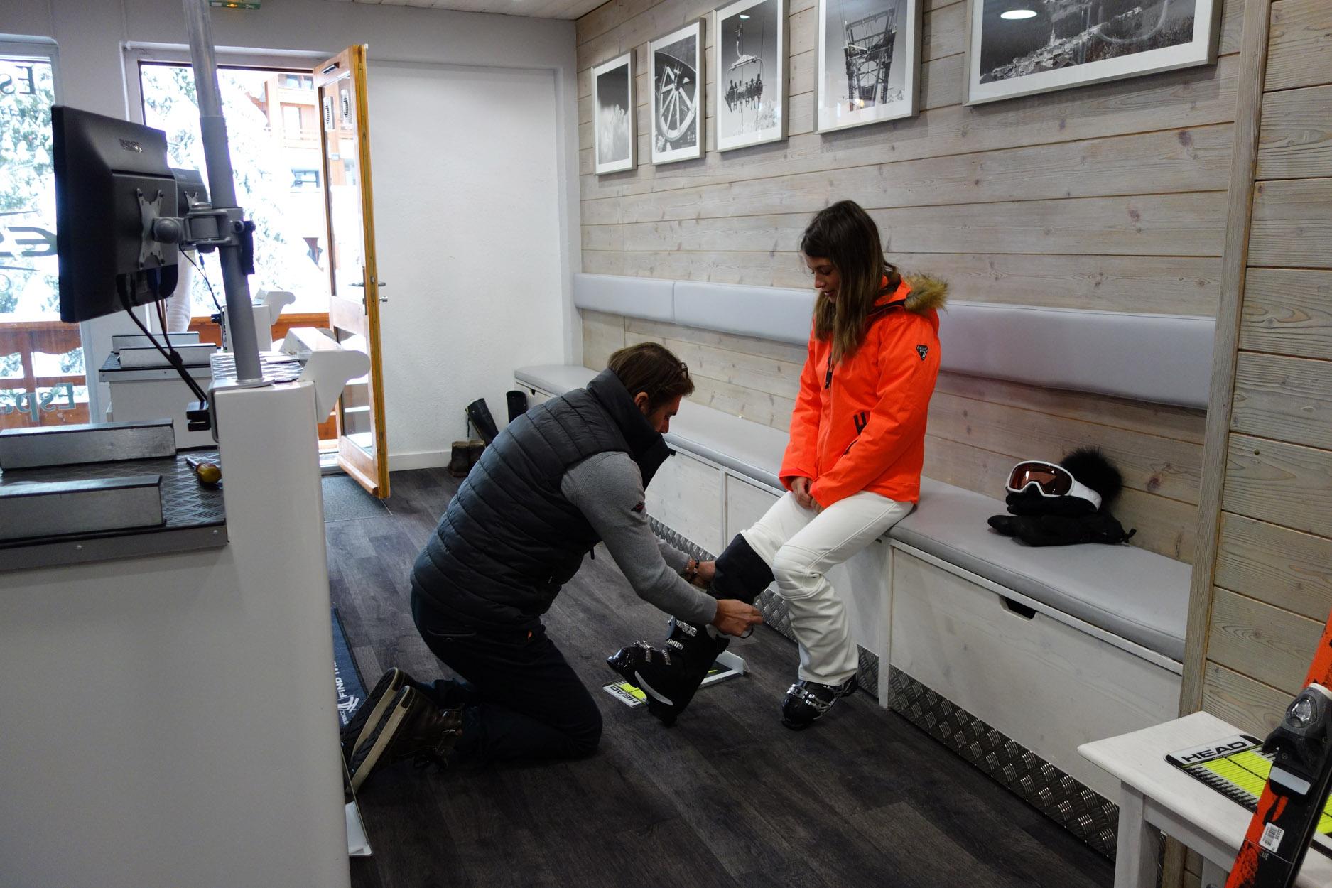chaussures de ski Espace Gliss